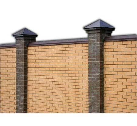Крышки на забор